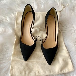 NEW LISTING! J.Crew Colette Suede D'orsay Heels